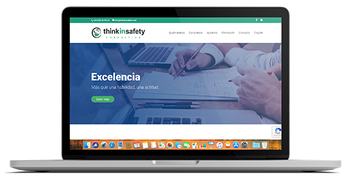 Think in Safety Consulting - Weboluciona - disseny web
